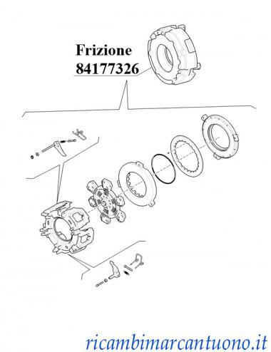 Frizione New Holland -  cod 84177326