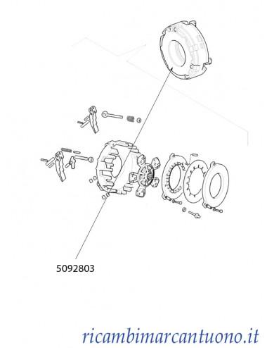 Frizione New Holland - cod 5092803