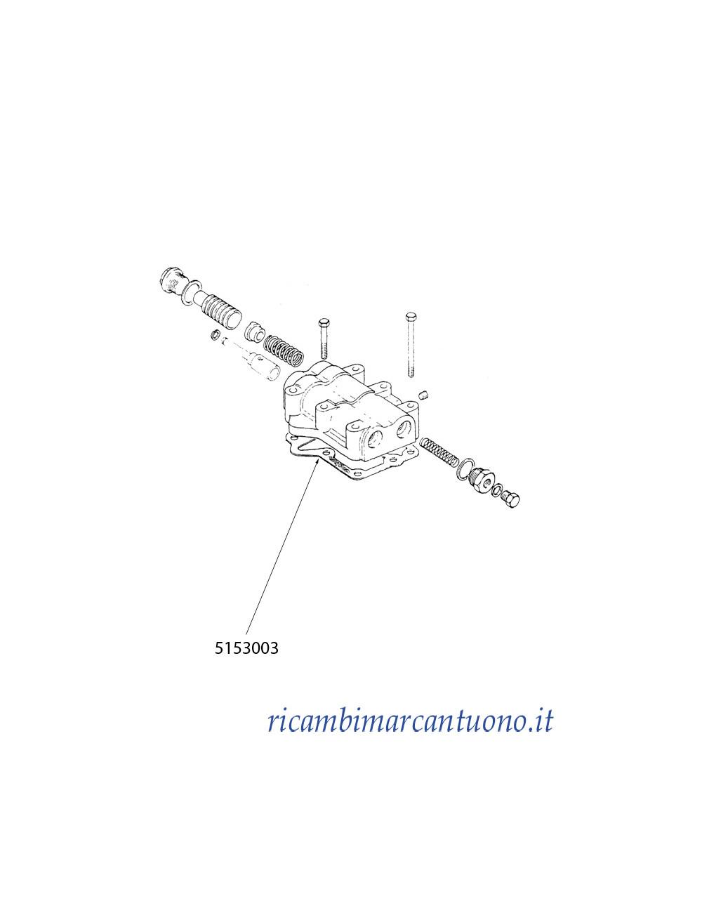 Guarnizione New Holland - cod 5153003