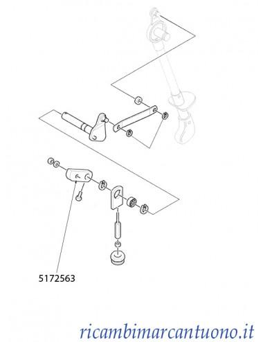 Blocchetto comando presa di forza New Holland - cod 5172563