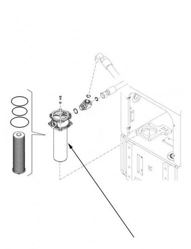 Filtro olio idraulico New Holland - cod 84553898