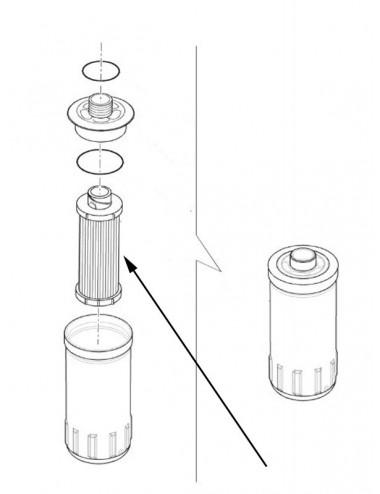 Filtro olio idraulico New Holland - cod 84417139
