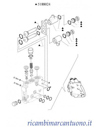 Kit distributore New Holland - cod 5188024
