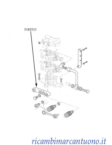 Connettore idraulico New Holland - cod 5185533