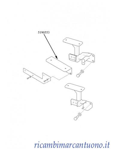 Piastra per cassetta attrezzi New Holland - cod 5190553