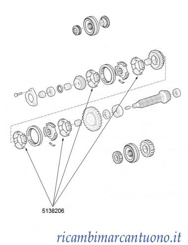 Sincronizzatore New Holland -  cod 5138206