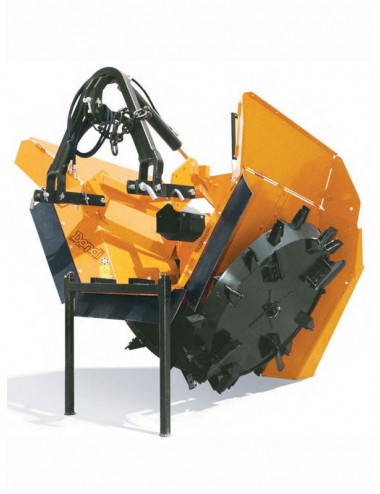 Scavafossi rotativa biruota dondi modello DBR 75/32° - 1000