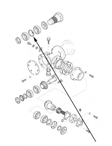 anello a scatto new holland  - cod 382103