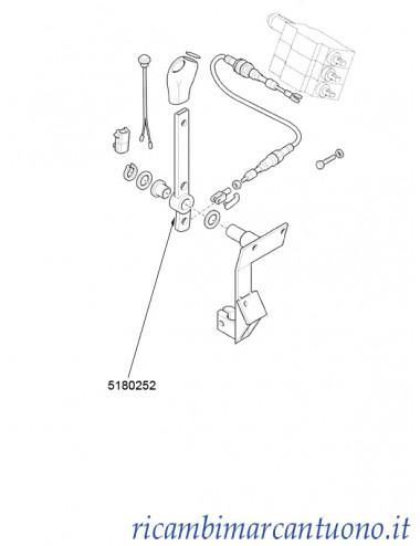 Leva New Holland - cod 5180252