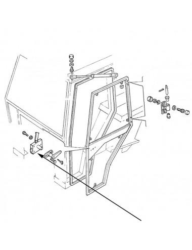 Blocco maniglia sinistra new holland - cod 76013997
