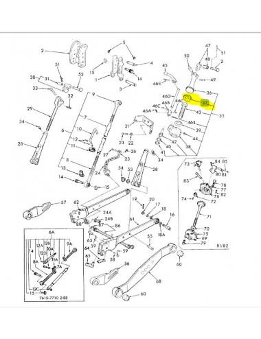 Ingranaggio cod - 83928917 ricambio originale CNH