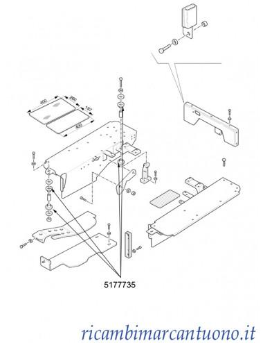 Anello di gomma New Holland - cod 5177735