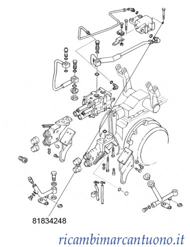 Bullone radiatore olio New Holland - cod 81834248