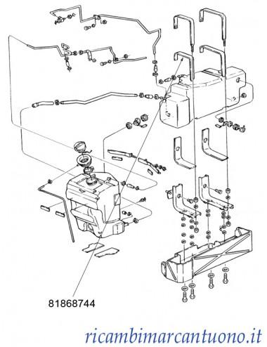 Protezione serbatoio New Holland - cod 81868744