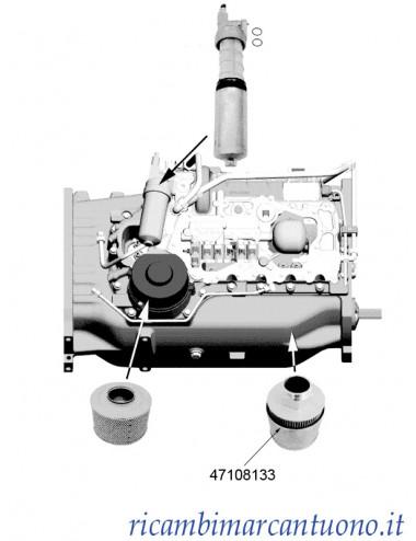 Filtro olio idraulico New Holland -  cod 47108133
