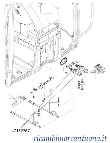 Cilindro freni New Holland - cod 47132767