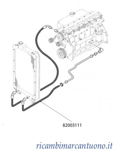 Tubo flessibile New Holland - cod 82003111