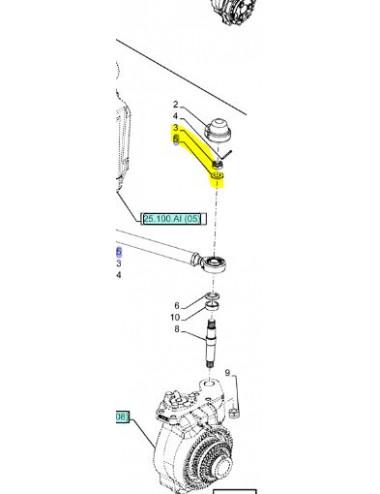 Rosetta piana cod- 13508221ricambio originale CNH