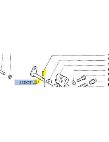 Perno valvola freno rimorchio New Holland - cod 5125231