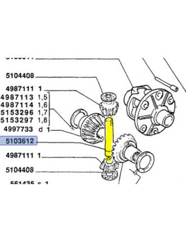 Perno cod - 5103612 ricambio originale CNH