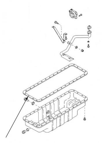 Guarnizione motore New Holland - cod 87725617