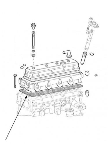Serie guarnizioni motore New Holland - cod 98456216