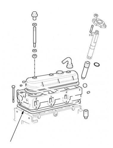 Serie guarnizioni motore New Holland - cod 98472011