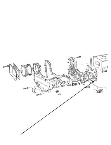 Serie guarnizioni motore New Holland - cod 99440820