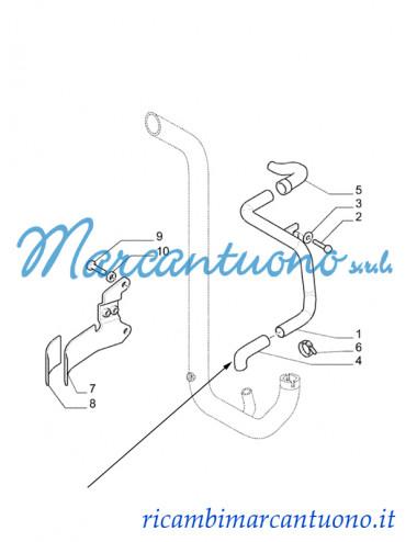Manicotto flessibile New Holland - cod 47130708