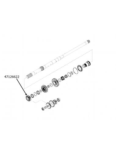 Ingranaggio trasmissione New Holland - cod 47126622