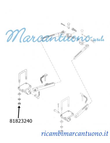 Dado stabilizzatore New Holland - cod 81823240