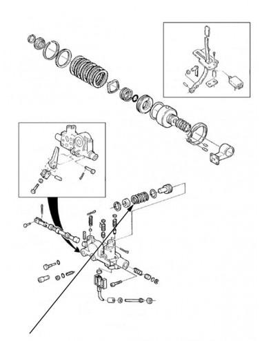 Molla frizione presa di forza New Holland - cod 81866141