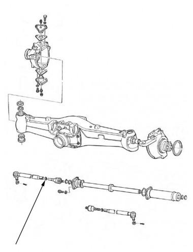 Dado cilindro sterzo New Holland - cod 81878544