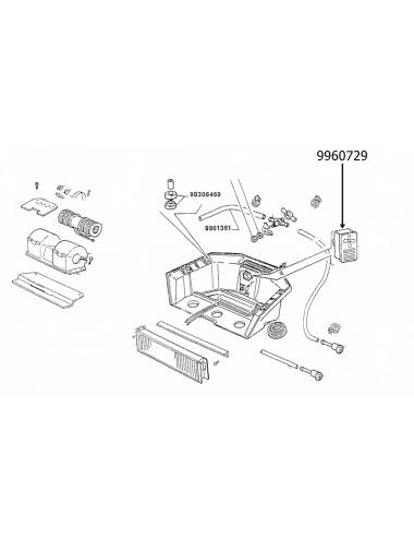 Interruttore riscaldamento New Holland -cod 9960729