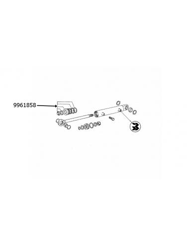 Guida di scorrim. completa idroguida anter. New Holland -cod 9961858
