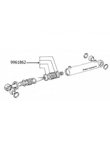 Kit pistone idroguida New Holland -cod 9961862