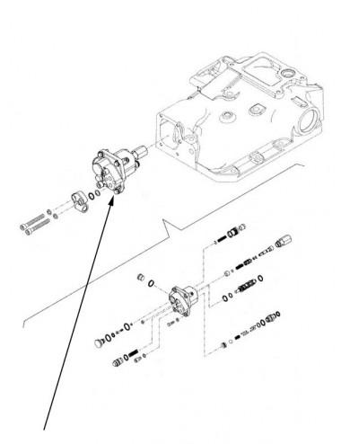 Valvola idraulica sollevatore New Holland - cod 84148463