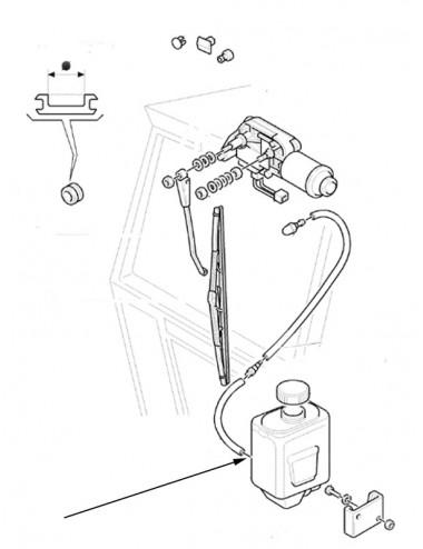 Serbatoio lavacristalli New Holland - cod 5183083