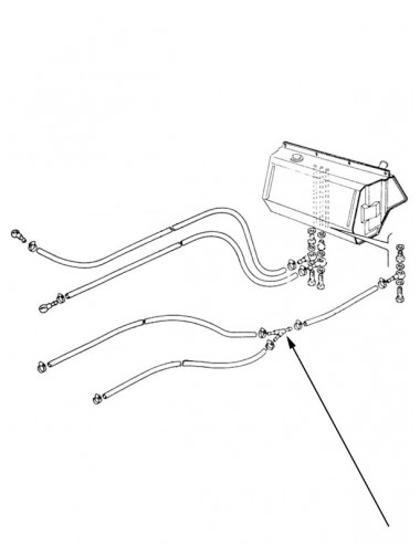 Connettore idraulico New Holland - cod 5110608