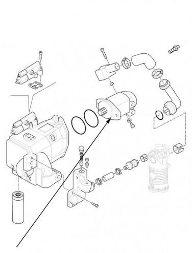 Pompa idraulica New Holland - cod 84263360