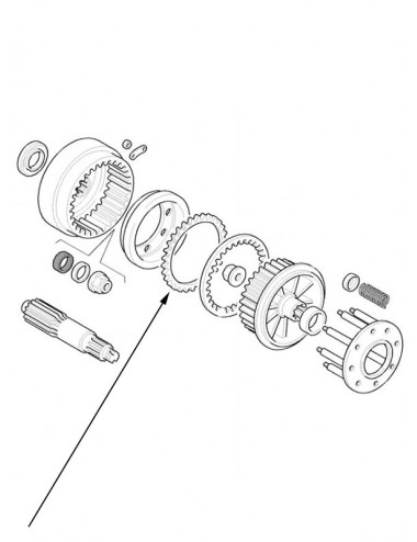 Disco frizione New Holland - cod 5197641