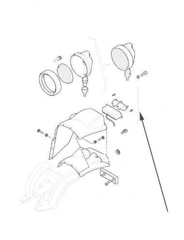 Fanale posteriore New Holland - cod 9977730