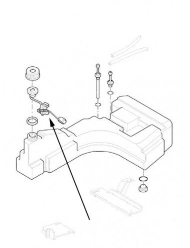 Trasmettitore livello carburante New Holland - cod 5190652