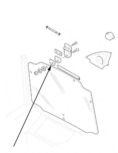 Guarnizione di gomma New Holland - cod 87543738