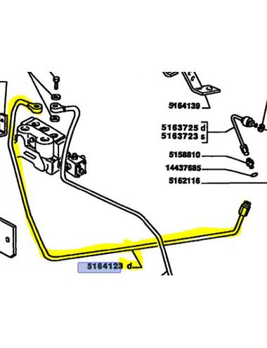 Tubo rigido COD- 5164123 ricambio originale CNH