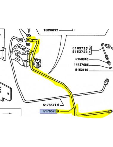 Tubo rigido cod- 5176573 ricambio originale CNH