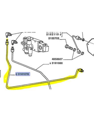 Tubo rigido cod - 5161078 ricambio originale CNH