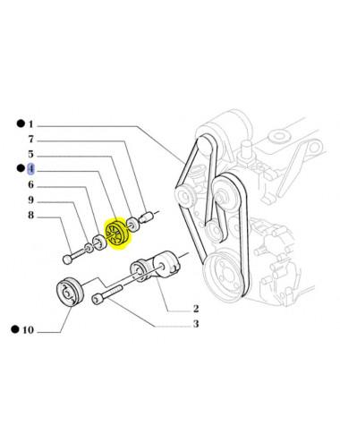 puleggia motore new holland - cod 84412927