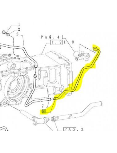 Tubo rigido cod - 5174648 ricambio originale CNH