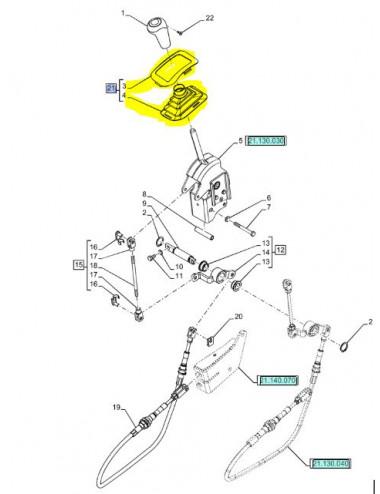 cuffia parapolvere leva New Holland - cod 47482074